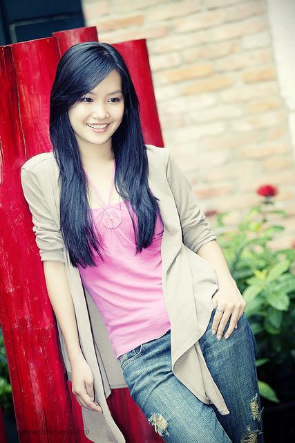 hình chân dung model Minh Van (Coco Van Nguyen)