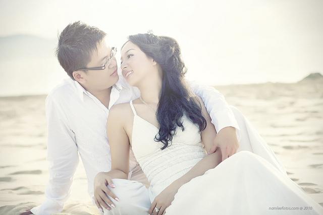 hình cưới ngoại cảnh Laura Lai - Leon Nguyen