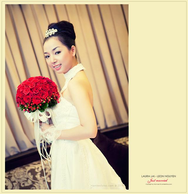 hình cưới laura lai