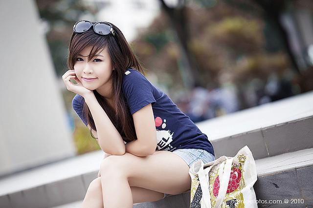 hình chân dung model Jojo Nguyen