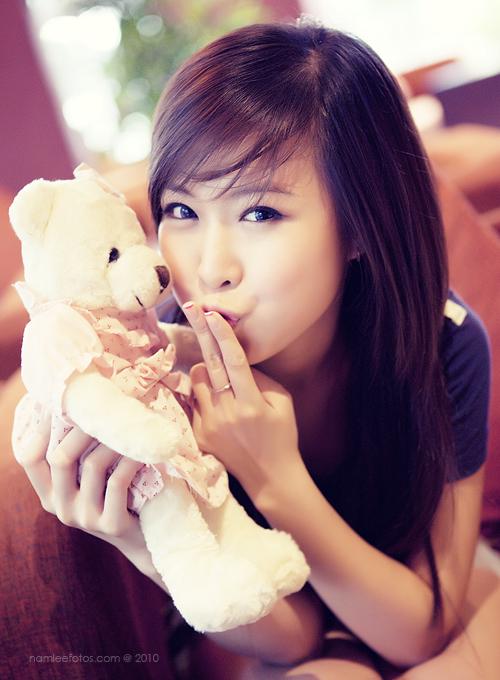 chụp hình chân dung ngoại cảnh model Jojo Nguyen