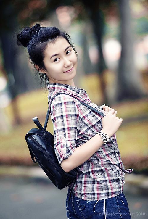 Hình chân dung model Nhã Khanh
