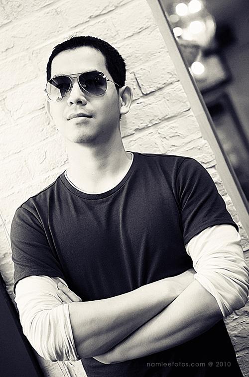 Hình chân dung model Tony Phạm