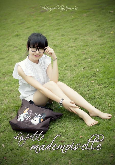 hình chân dung đẹp, model Nhã Khanh