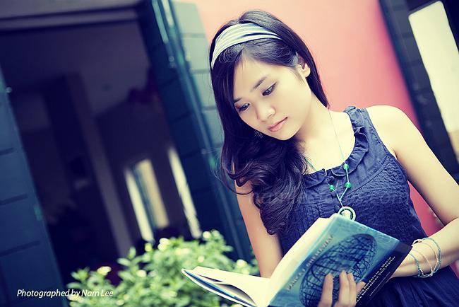 hình chân dung model Mai Vy